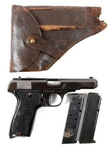 FRENCH MAB MODEL D 7 65mm PISTOL  Surplud pistols produced