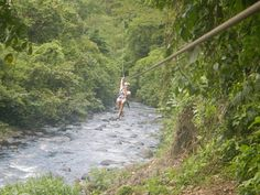 Zip Lining in Costa Rica! I have always wanted to do some zip lining in the tropics.