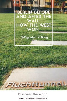 """Self-guided walking tour """"Berlin Before and After the Wall: How the West Won (and Where It Got Them)"""" #Berlin #Germany #Europe"""