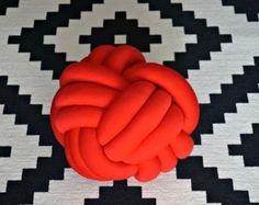 Red Knot Cushion Edit Listing