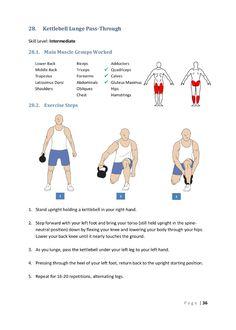 The Ultimate Kettlebell Guide Kettlebell Arm Workout, Kettlebell Challenge, Kettlebell Training, Kettlebell Benefits, Boxing Workout, Butt Workout, Back Workout At Home, At Home Workouts, Body Workouts