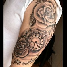 "abrahamdaza1: ""Tatuaje de Rosas y Reloj Cicatrizado. Realizado en @madhousetattoostudio en #bogota #colombia info whatsapp 58 4245341693 y 319 4285059 . #tattoos #clock #roses #blackandgrey #art #amazing #tattoofreakz #tattooistartmag #venezuela #barquisimeto #tattooshop #tattoobogota #bogotatattoo #instagood #ink #tat2"""