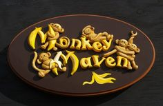 Monkey Maven House Sign / Danthonia Designs