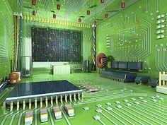 Eletronic room