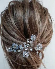 Bun Hairstyles For Long Hair, Bride Hairstyles, Headband Hairstyles, Cute Hairstyles, Party Hairstyle, Hairstyle Ideas, Hairstyle Wedding, Front Hair Styles, Medium Hair Styles