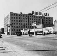 The Sinclair Building in the 900 block of South Boston Avenue, Tulsa, OK, which now houses Tulsa Community College.
