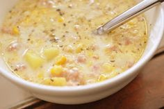 ... about Soups on Pinterest | Clam chowder, Cheese soup and Tortilla soup
