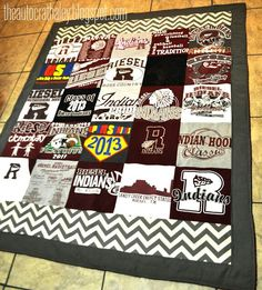 fleece backed t-shirt quilt