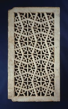Pierced Window Screen (Jali)  Object Name: Screen Date: early 17th century Geography: India