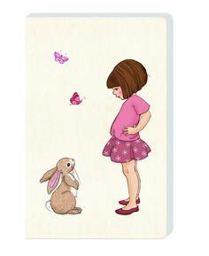 Belle & Boo Notizbuch, Belle steht