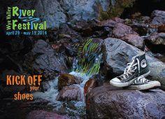 Cleddon Shoots Monmouthshire shot for River Festival postcards