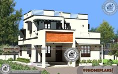 Modern Square House Plans 60+ Modern Double Storey House Plans