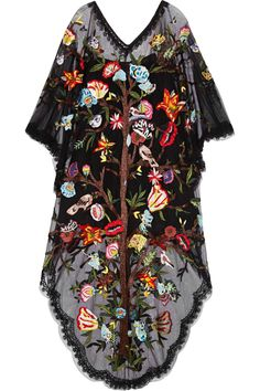 Valentino|Embellished embroidered tulle gown|NET-A-PORTER.COM