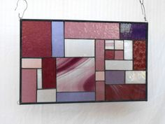 Stained-Glass-Panel-Amethyst-Mauve-Patchwork-Quilt-Window-Valance-Suncatcher