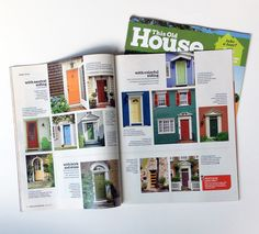 """This Old House featured color advice from color expert Amy Wax in an article on how to """"Personalize Your Front Door"""". The article featured 16 different situations and how to make the right color choice for your front door!"""
