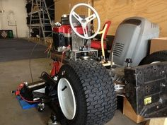 Building a Racing Lawn Mower part 3.1 - Tour - YouTube
