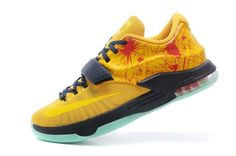 the latest 599dd 3ce0d Mens Kd Shoes Nike Zoom Vii 7 Yellow Green Hot, 88.93   www.totalnikeshoes.com