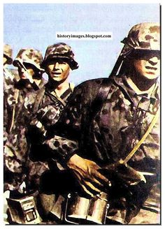 Waffen SS was a highly motivated fighting machine. With suicidal soldiers but it always got desired results.