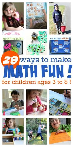 fun math activities for after school !