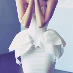 #peplum #dress #highfashion #stunning