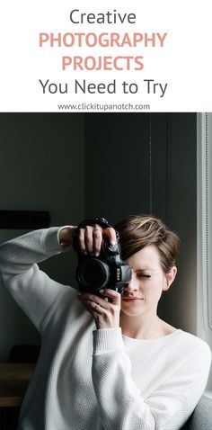 Must-try photography projects to try! Such create photography projects to improve your photography.