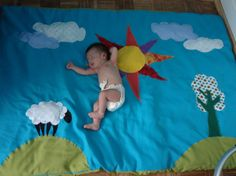 Best play mat. Would lead to great pictures I bet