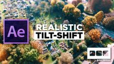In this tutorial by DOD Media, we'll be looking at how to create a realistic tilt shift effect in Adobe After Effects using only the native effects. Vfx Tutorial, Cinema 4d Tutorial, Animation Tutorial, Adobe After Effects Tutorials, Effects Photoshop, Photoshop Photography, Photography And Videography, Motion Design, Montage Video