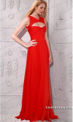 V-neck Floor-length Chiffon Evening gown inspired by Odette Yustman at 2011 Oscar Party Pair  .prom dresses,formal dresses,ball gown,homecoming dresses,party dress,evening dresses,sequin dresses,cocktail dresses,graduation dresses,formal gowns,prom gown,evening gown.