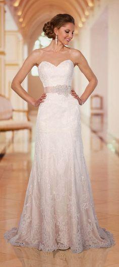 Oh so pretty #wedding dress by Stella York