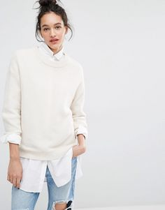 Image 1 ofSelected Misa Textured Jumper