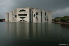 Great buildings image - national assembly in dacca