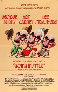 Going in Style (1979) Original One-Sheet Movie Poster