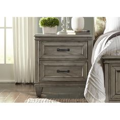 Found it at Wayfair - Grace 2 Drawer Nightstand
