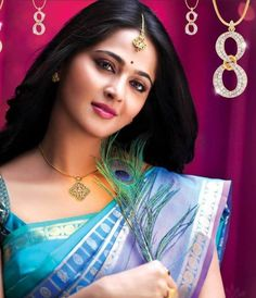 Anushka Shetty is beautiful sweet cute actress of South India. She is very sexy hot and good looking actress and model who mainly works in Tamil and Telegu Beautiful Girl Indian, Most Beautiful Indian Actress, Beautiful Saree, Most Beautiful Women, Beautiful Actresses, Actress Anushka, Bollywood Actress, Bollywood Style, South Indian Bride