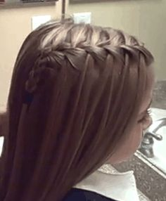 Peinado para niñas. http://www.maquillajeypeluqueria.com