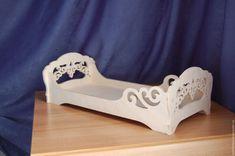 Купить Кукольная кроватка.184 - кукольная мебель, Мебель, мебель для кукол, мебель ручной работы