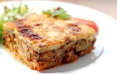 recette moussaka weight watchers gratuite