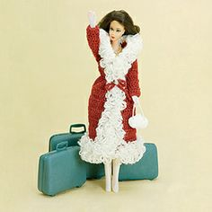 Fashion Doll: Faux Fur Coat crochet pattern  Crochet fashion doll clothes  $2.99