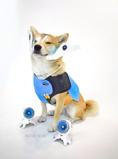 Symmetra Doge by @Outside_the_Vox
