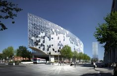 New Central Library design by Snøhetta, set to open in 2018.