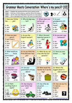 Grammar Meets Conversation 10 - Possessive Adjectives - Asking For General Information - English ESL Worksheets for distance learning and physical classrooms Pronoun Worksheets, English Grammar Worksheets, Reading Comprehension Worksheets, Prepositions, Printable Worksheets, Free Printable, English Fun, English Lessons, Learn English