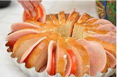 ΜΑΓΕΙΡΙΚΗ ΚΑΙ ΣΥΝΤΑΓΕΣ: Φέτες ψωμιού στο φούρνο με γέμιση ,μια ωραία ιδέα!!