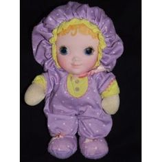 Jammie Pies doll....my first doll, still have her except she's faded and her eyes are wearing off...love her to death!!
