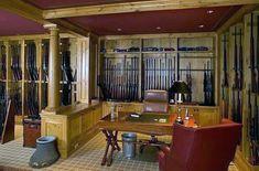 traditonal-gun-room-with-office-design