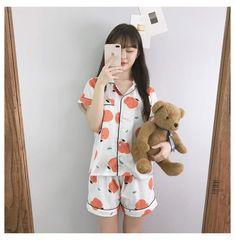 Cute Pjs, Cute Pajamas, Pajamas Women, Pajama Outfits, Girl Outfits, Cute Outfits, Fashion Outfits, Satin Pyjama Set, Pajama Set