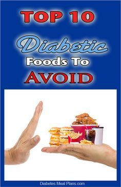 Top 10 Foods To Avoid If You're Diabetic - Lower Blood Sugar and A1C and Improve Your Health Dramatically!