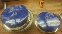 Blurple choc cake