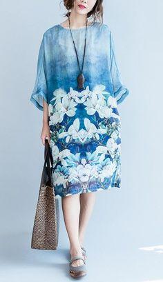 Beautiful linen dress