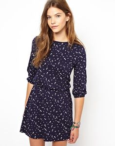People Tree Organic Cotton Printed Skater Dress ($101.00) - Svpply