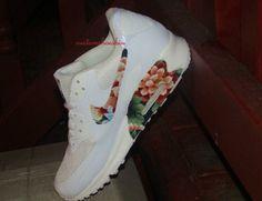 Nike Air Max 90 White Floral